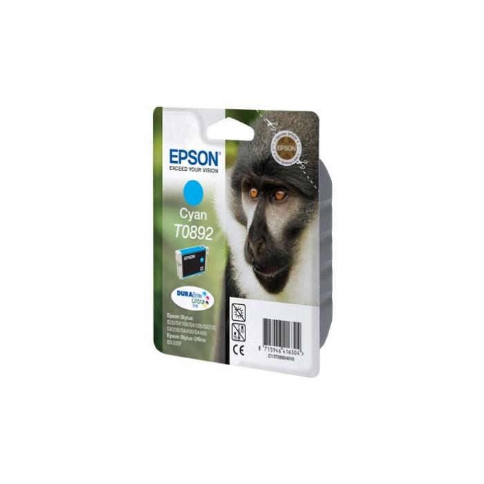 Epson T0892 Druckerpatrone cyan Durabrite Ultra Tinte