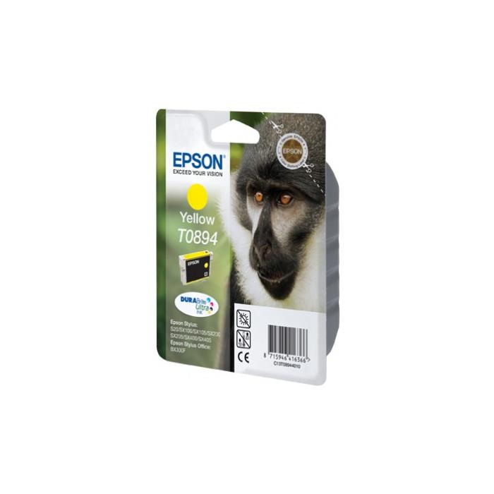 Epson T0894 Druckerpatrone yellow Durabrite Ultra Tinte