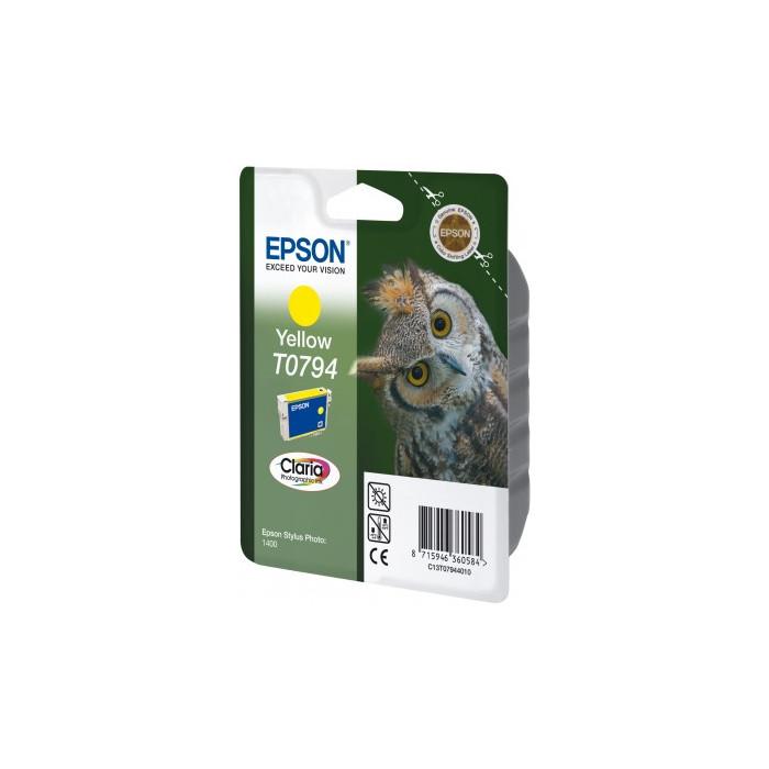 Epson T0794 Druckerpatrone yellow