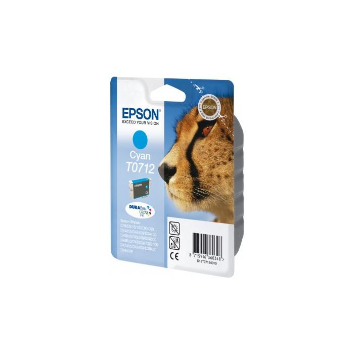 Epson T0712 Druckerpatrone cyan
