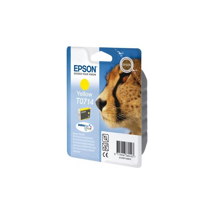 Epson T0714 Druckerpatrone yellow