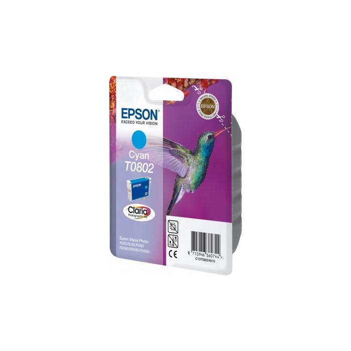 Epson T0802 Druckerpatrone cyan