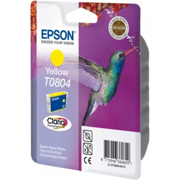 Epson T0804 Druckerpatrone yellow