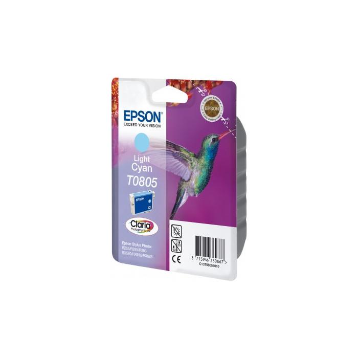 Epson T0805 Druckerpatrone lightcyan
