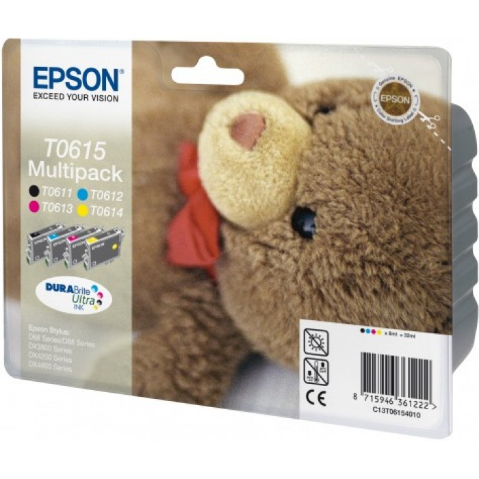 Epson T0615 Multipack BK/C/M/Y  Tinte