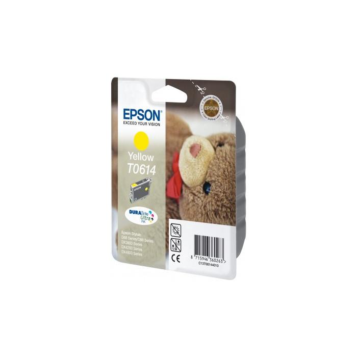 Epson T0614 Druckerpatrone yellow