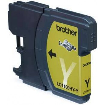 Brother LC-1100HYY Druckerpatrone yellow Jumbo