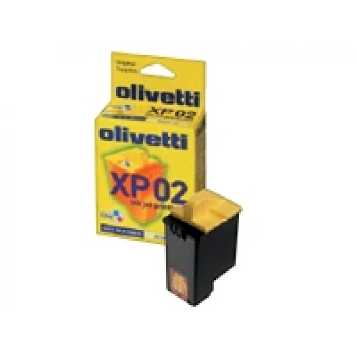 Olivetti XP-02 Druckerpatrone color B0218