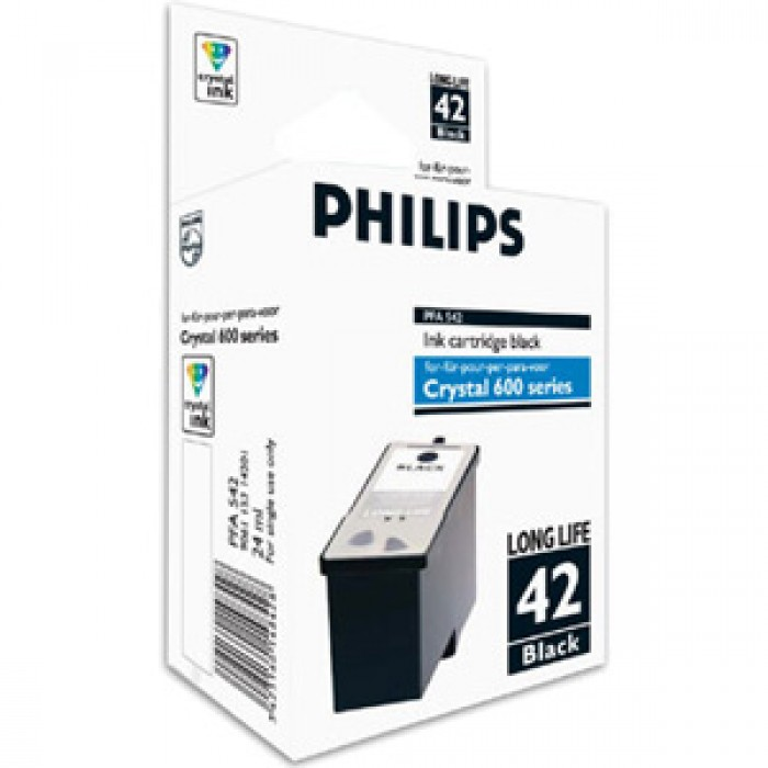 Philips 42 Druckerpatrone black PFA-542