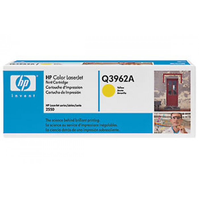 HP 122A Tonerkartusche yellow Q3962A