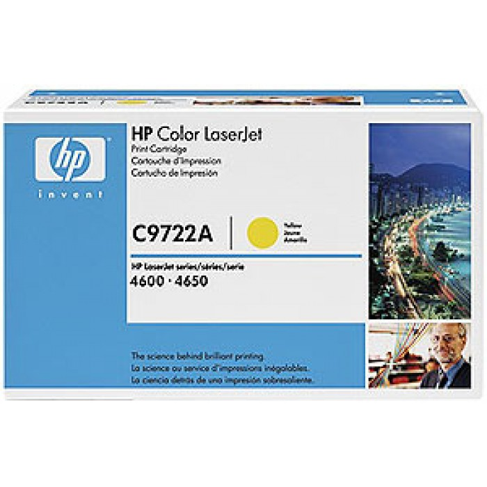 HP 641A Tonerkartusche yellow C9722A