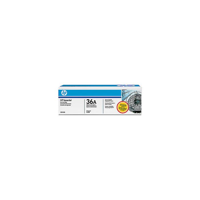 HP 36A Tonerkartusche schwarz CB436A