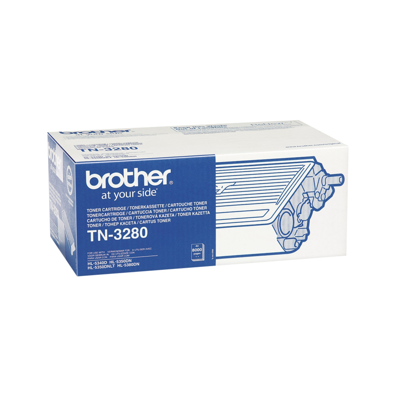 Brother TN-3280 Tonerkartusche schwarz