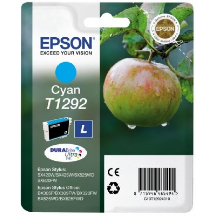 Epson T1292 DURABrite Ultra Druckerpatrone cyan