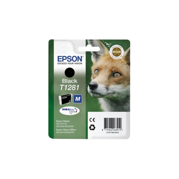 Epson T1281 DURABrite Ultra Druckerpatrone schwarz