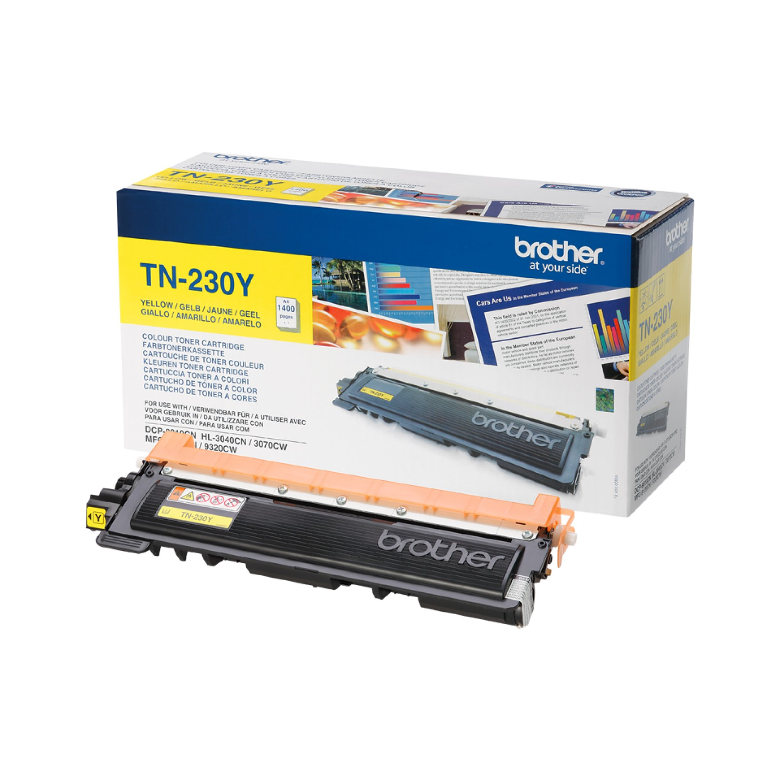 Brother TN-230Y Tonerkartusche yellow
