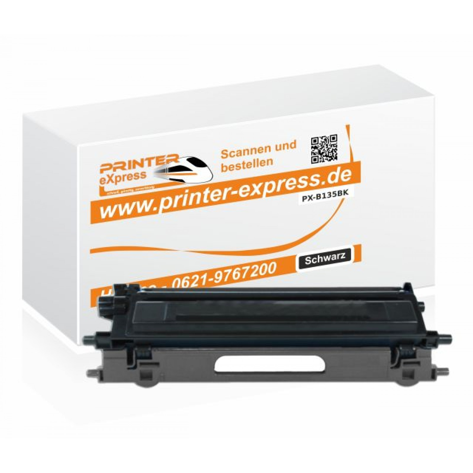 Alternativ Brother Toner TN-135BK schwarz