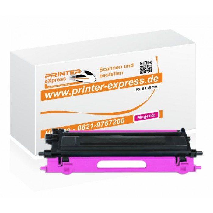 Toner alternativ zu Brother TN-135M für Brother Drucker...
