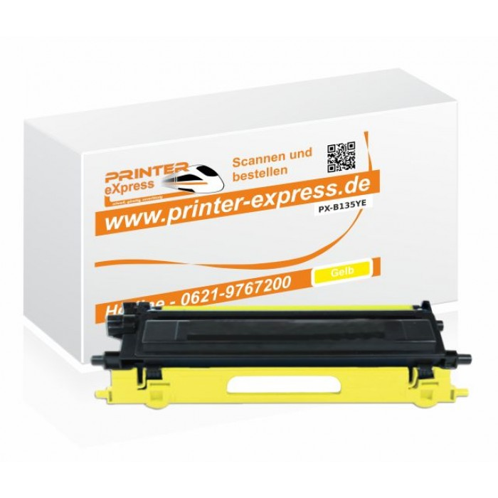 Alternativ zu Brother TN-135Y Toner gelb
