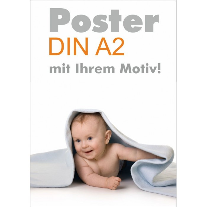 Poster DIN A2 Format Druck