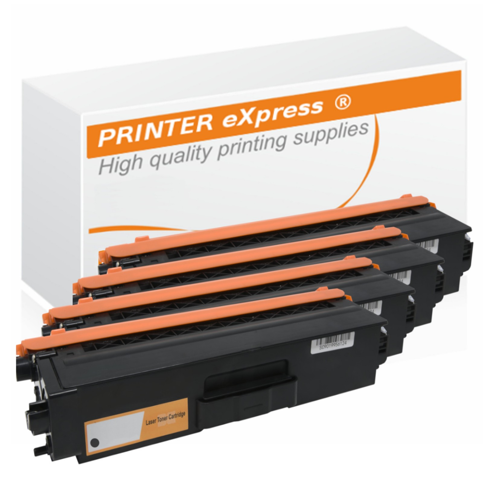 Toner Multipack alternativ zu Brother TN-320 4 Tonerkartuschen für Brother Drucker