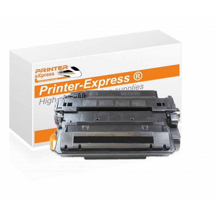 Toner alternativ zu HP CE255X , 55X für HP Drucker Schwarz