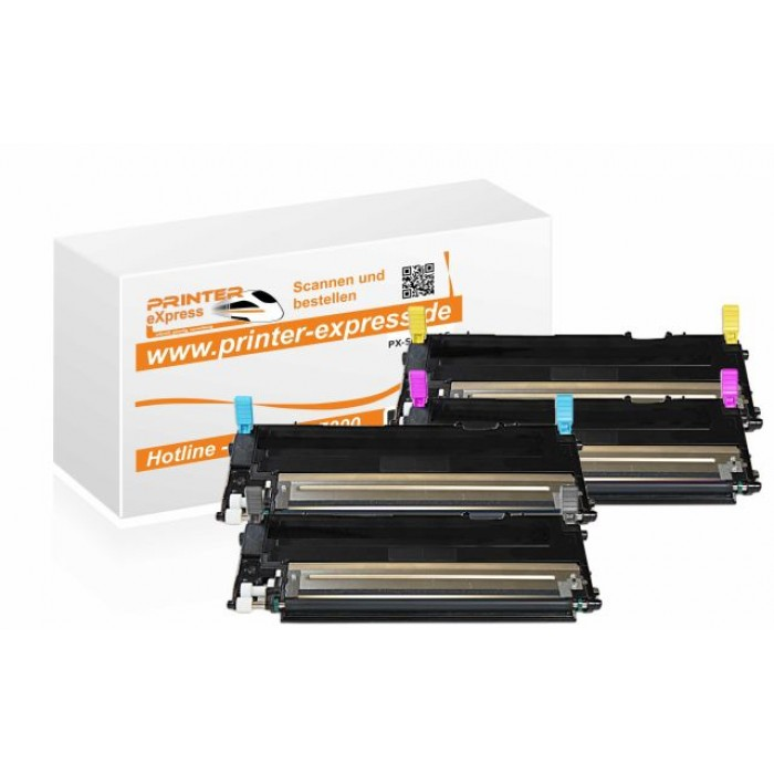 Toner Multipack alternativ zu Samsung CLP-320 4...