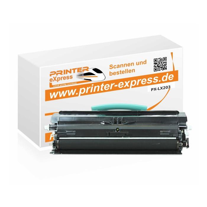 Toner alternativ zu Lexmark 0X203A11G, 0X203A21G, X203...