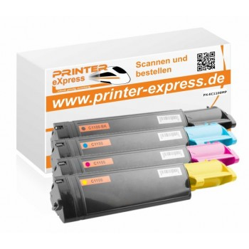 Toner Multipack alternativ zu Epson C1100 4...