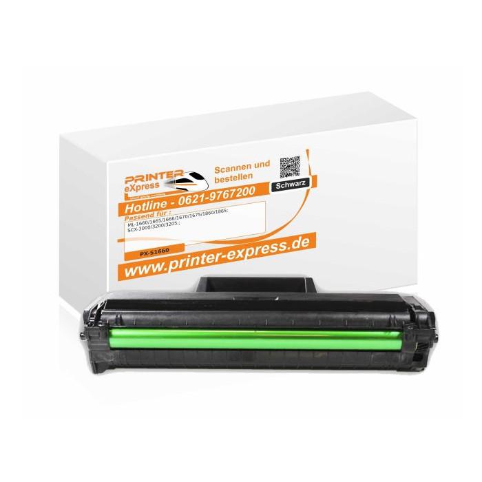 Toner alternativ zu Samsung ML-1660, MLT-D1042S/ELS für...
