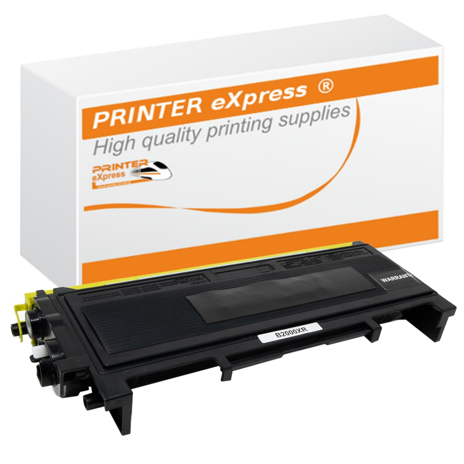 Toner alternativ zu Brother TN-2010 für Brother Drucker Schwarz