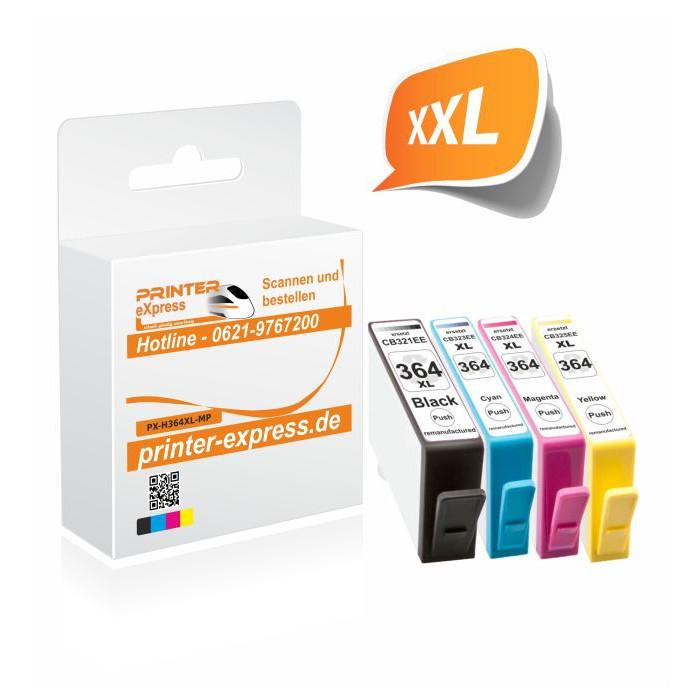 Printer-Express XL-SET 4 Druckerpatronen ersetzten HP...