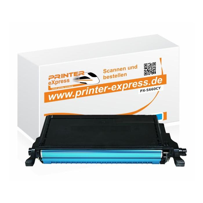 Toner alternativ zu Samsung CLP-610, CLP-660,...