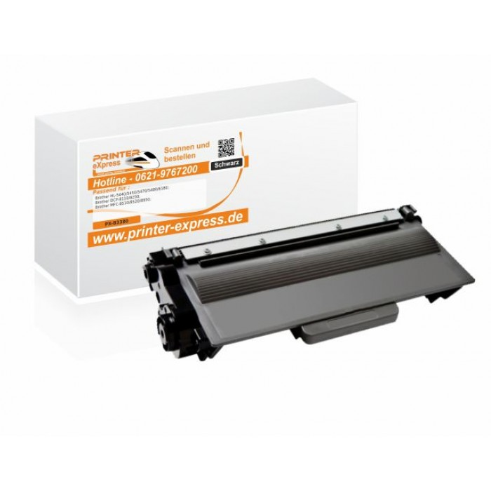Alternativ zu Brother TN-3380 Toner schwarz
