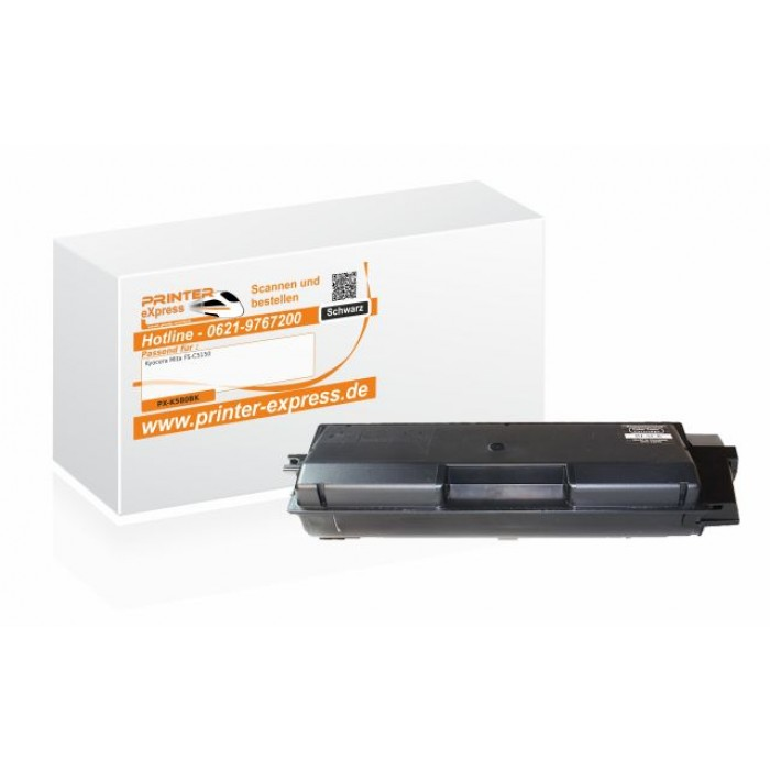 Alternativ zu Kyocera TK-580BK Toner schwarz