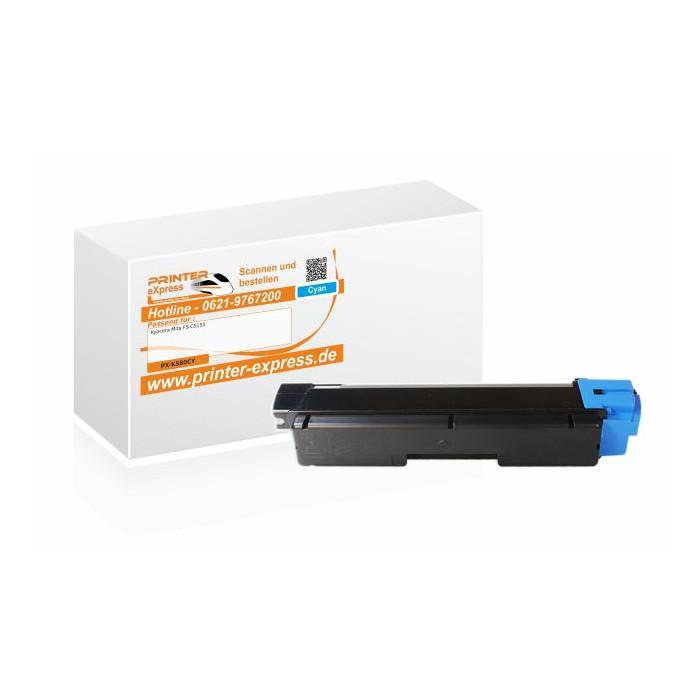 Alternativ zu Kyocera TK-580C Toner cyan