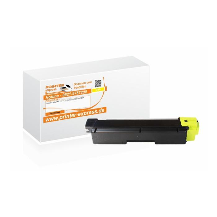 Toner alternativ zu Kyocera TK-590Y, TK-590YE für Kyocera...