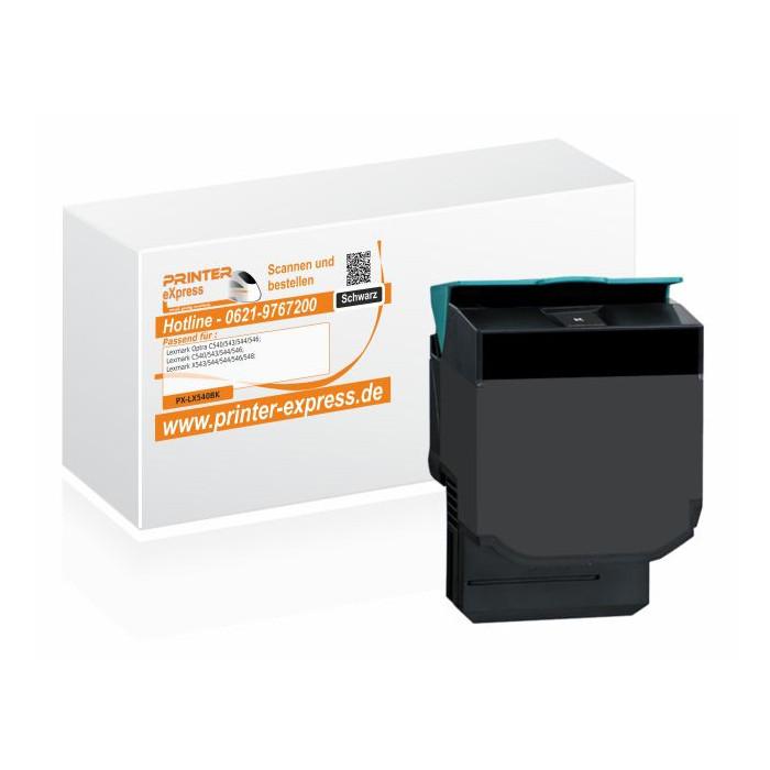 Toner alternativ zu Lexmark C540H2KG, C540A1KG, C540H1KG...