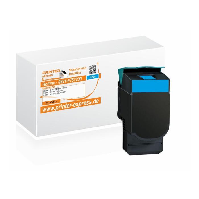 Toner alternativ zu Lexmark C540H2CG, C540A1CG, C540H1CG...