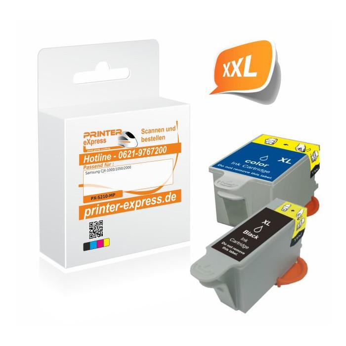 Printer-Express XL-SET 2 Druckerpatronen ersetzt Samsung...