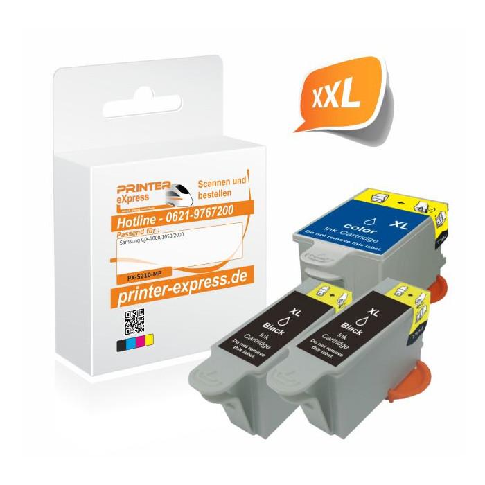 Printer-Express XL-SET 3 Druckerpatronen ersetzt Samsung...