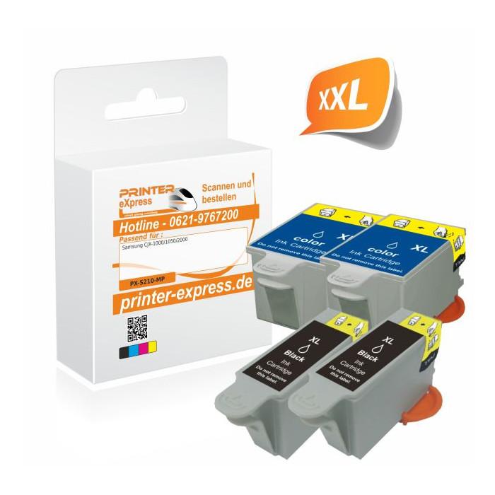 Printer-Express XL-SET 4 Druckerpatronen ersetzt Samsung...