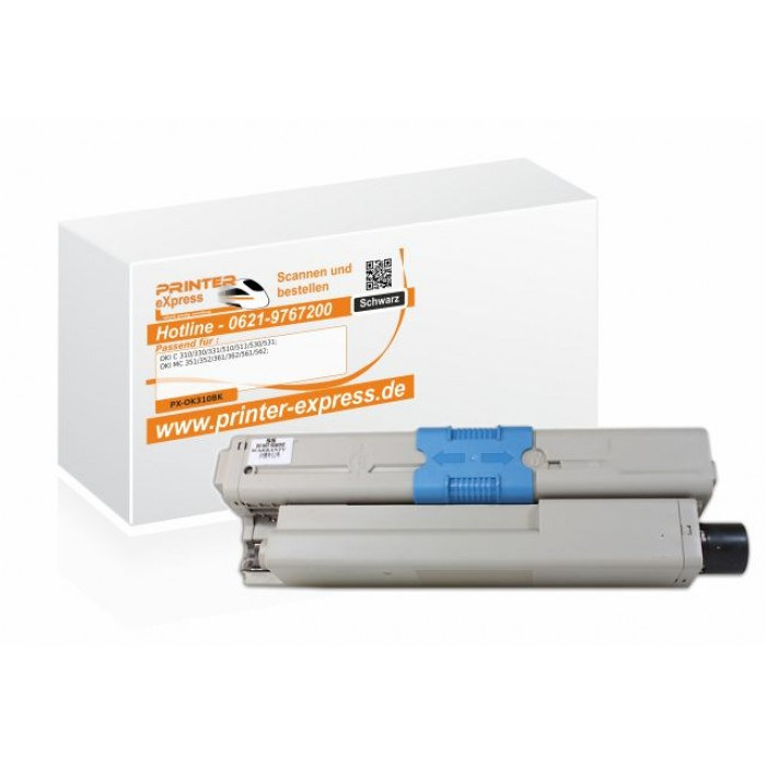 Toner alternativ zu Oki 44469803 XL für Oki C310 Drucker...