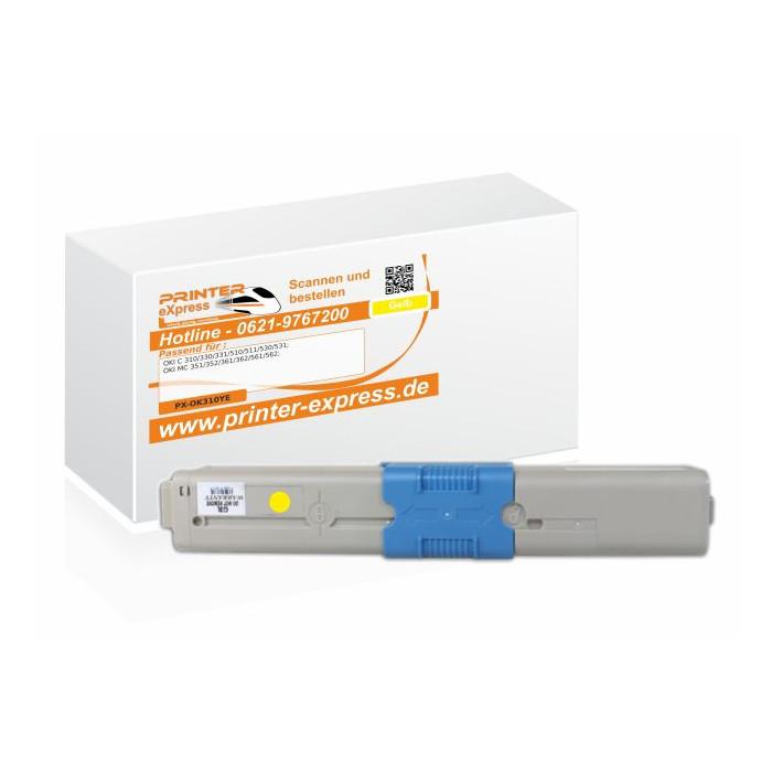 Toner alternativ zu Oki 44469704 XL für Oki C310 Drucker...