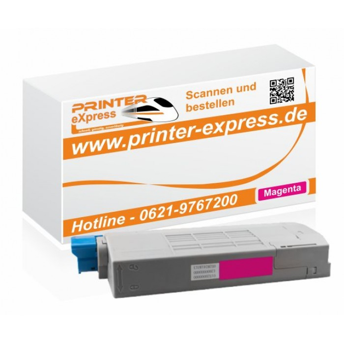 Toner ersetzt Oki 43866106, C710 XL für Oki Drucker magenta