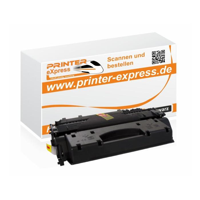 Toner alternativ zu HP CF280X, 80X für HP Drucker Schwarz