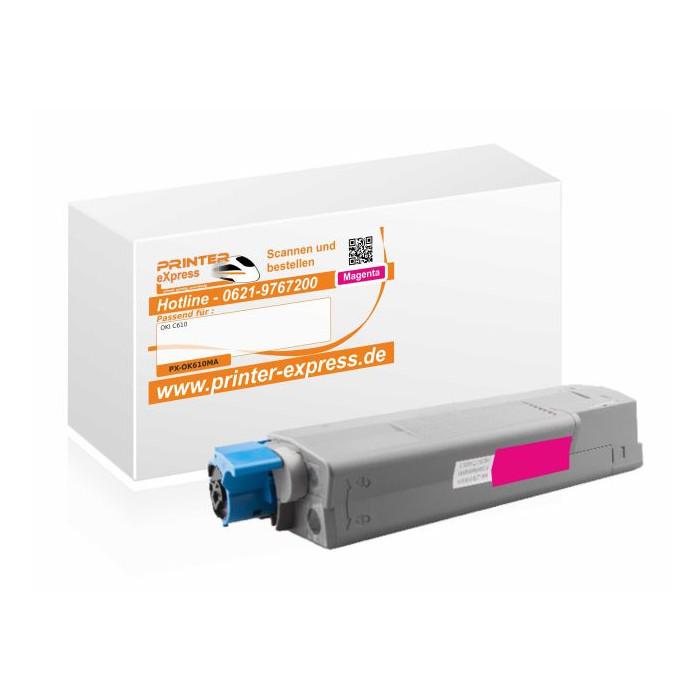 Toner ersetzt Oki 44315306, C610 XL für Oki Drucker magenta