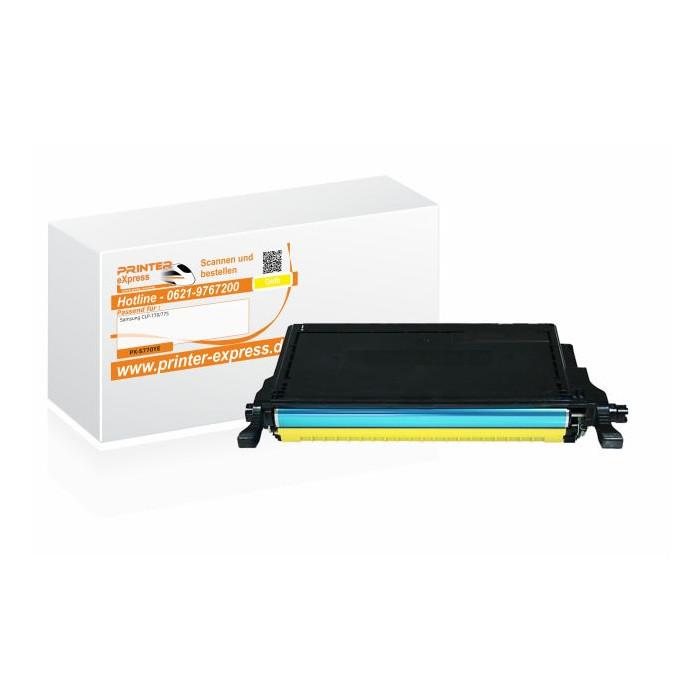 Toner alternativ zu Samsung CLP-770, CLT-Y6092S/ELS für...