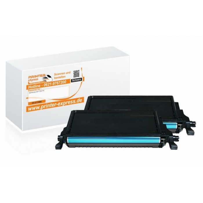 Toner 2er Set alternativ zu Samsung CLP-770,...