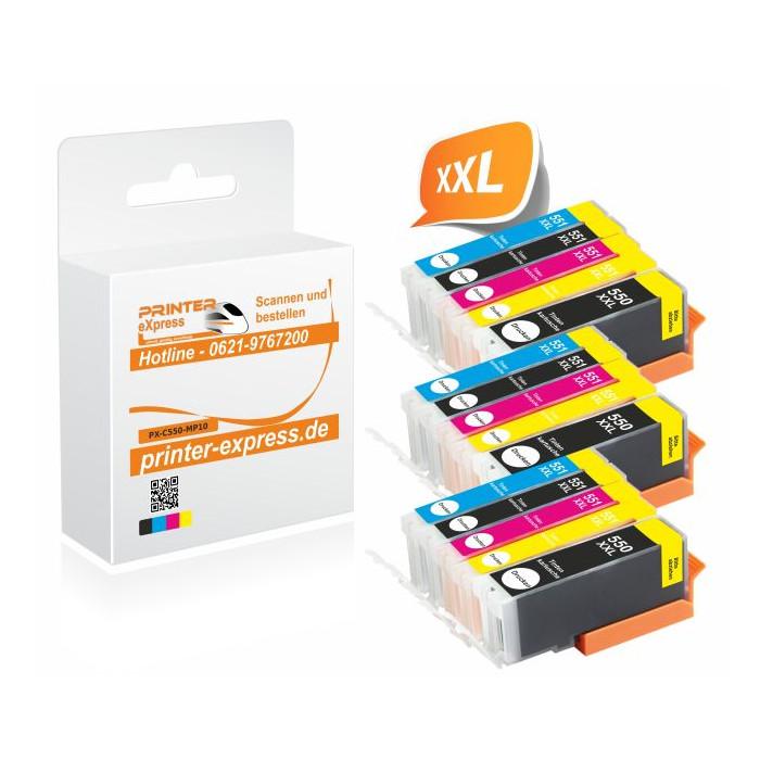 Printer-Express 15er Set Druckerpatronen ersetzten...